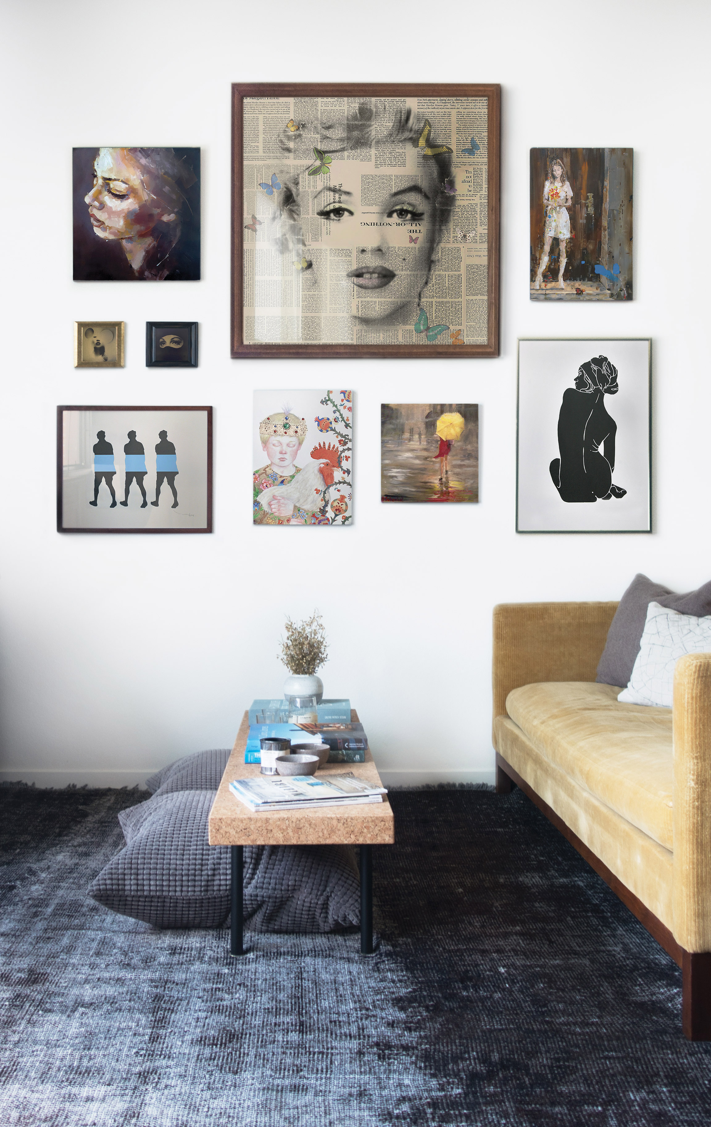 Picture Perfect: Salon-Style Gallery Walls – Canvas: A Blog By ...