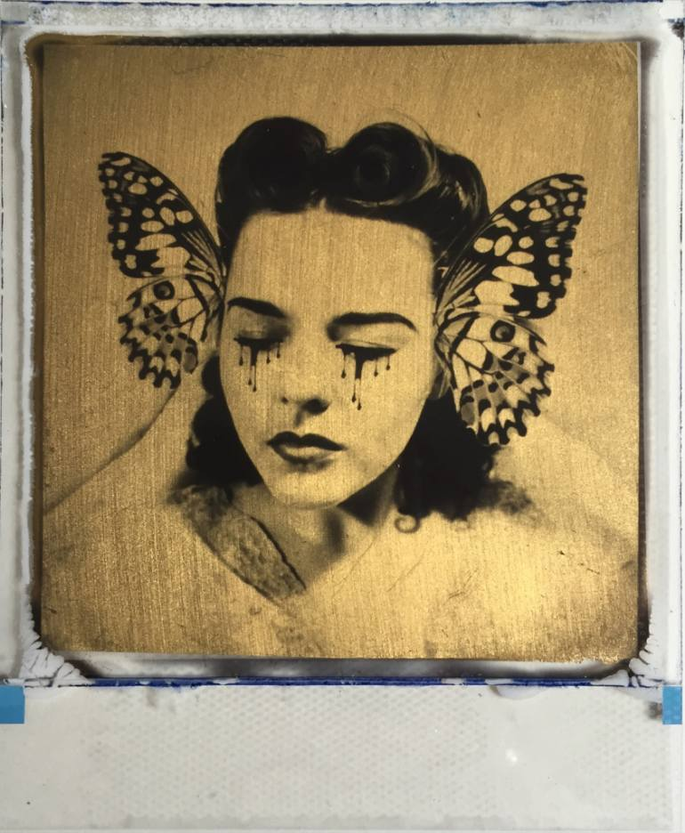 saatchi-art-gold-leaf-polaroid-andrew-millar