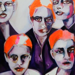 Sisters original fine art Patricia Derks