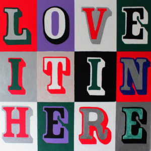 Love-It-In-Here-Jacqueline-Uitzinger-saatchi-art-pop-painting