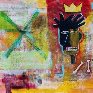 Basquiat Street Art Glenn Sutton Saatchi Art