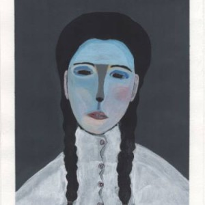 Saatchi Art Adam Norgaard Girl With Braids Painting