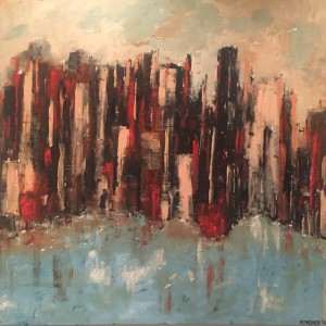 Abstract urban landscape for sale