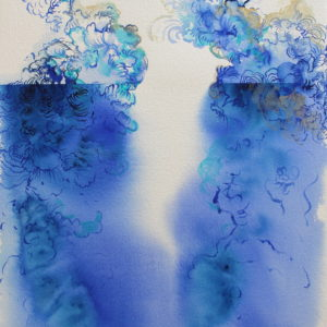 %22Untitled%22-Kristie-Fujiyama-Kosmides-saatchi-art-blue-watercolor-painting