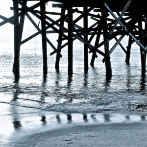 Blue-Pier-Susan-Burger-saatchi-art-photography