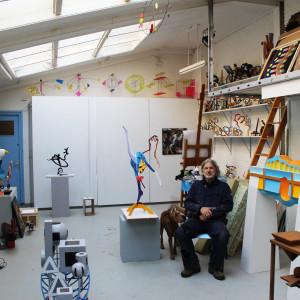 Saatchi Art Frans Muhren in the Studio
