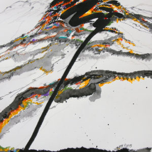 zen-mountain-kah-wah-tan-saatchi-art-landscape-drawing