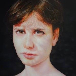 female artist from Netherlands paintings of girls on Saatchi Art
