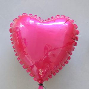 Helium-Heart-Sivan-Sternbach-saatchi-art-pink-ceramic-balloon-sculpture
