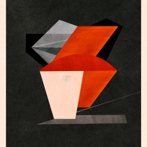 geometric abstract print by Jesus Perea