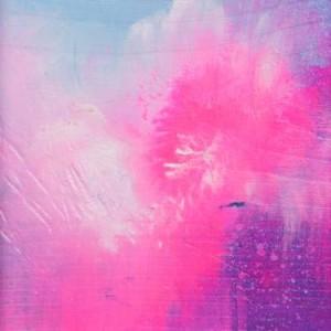 dreamy pink abstract painting by saatchi art artist georgina vinsun