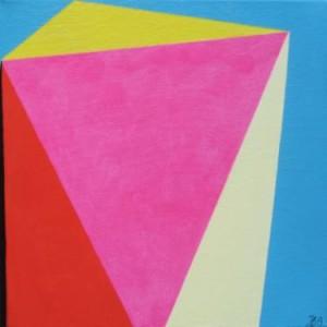 modern geometric original painting by ieva baklane at saatchi art