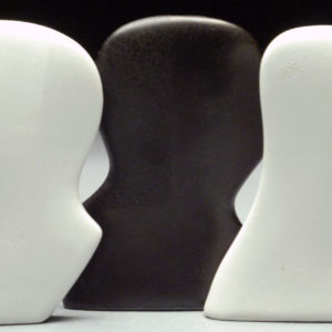 you-say-the-world-has-come-between-us-kate-nelson-saatchi-art-ceramic-wood-black-white-sculpture