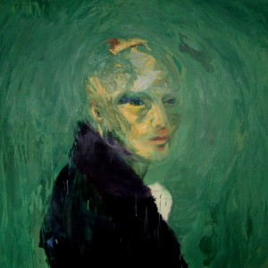 Artwork that looks like Van Gogh's painting for sale online green portrait
