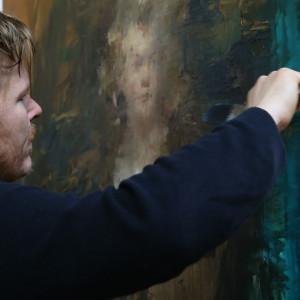 Saatchi Art Jake Wood Evans Work In Progress