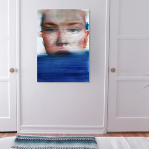 come and see how this original portrait can change your bedroom for the better
