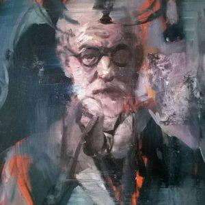 about-sigmund-freud-liviu-mihai-saatchi-art-figurative-painting