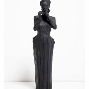 i-wake-up-screaming-nina-fowler-saatchi-art-sculpture-female-aluminum