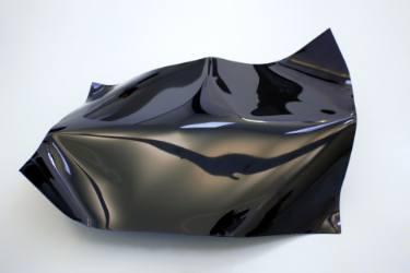Bend : Fold : Drape : Writhe n °1-lafargue-boris-saatchi-art-black-sculpture