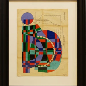 Seated-Woman-No.2-hormazd-narielwalla-saatchi-art-cubism-collage