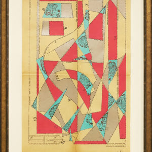 The-Elephant-Parade-No.2-hormazd-narielwalla-saatchi-art-cubism-collage