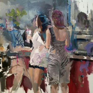 liviu-mihai-the-bar-saatchi-art-figurative-painting