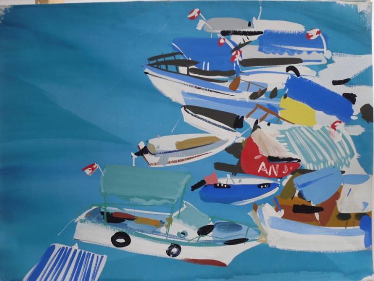 saatchi-art-pippa-cunningham-modern-oceanscape-boats