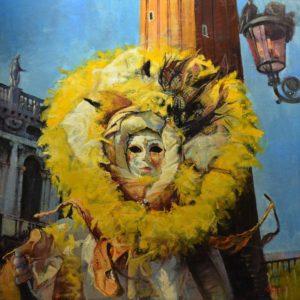 Carnival Sunshine by Saatchi Art artist Marco Ortolan