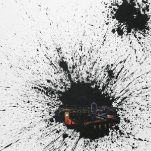A-little-talk-London-jieun-park-saatchi-art-splatter-painting