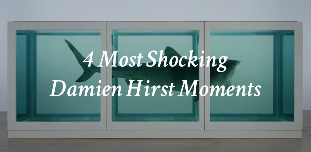 The 4 Most Shocking Damien Hirst Moments Canvas A Blog By Saatchi Art