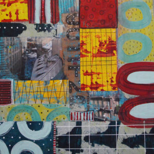 Paige-Hirsch-Balcony-original-abstract-mixed-media-collage-saatchi-art