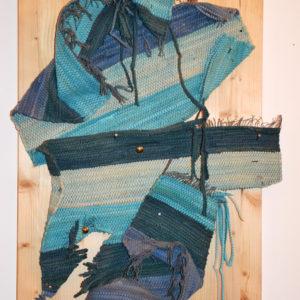 infinity-serena-rossi-saatchi-art-blue-installation