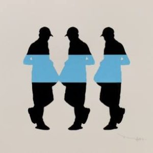 Tehos - Three men with bag 05