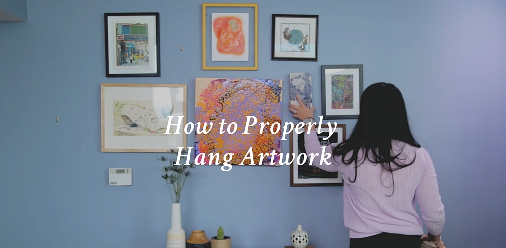 How To Properly Hang Artwork Canvas A Blog By Saatchi Art