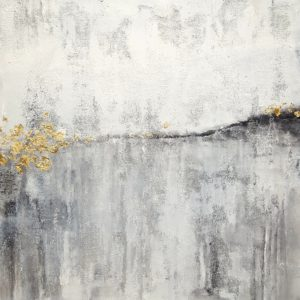 White-and-Gold-laura-spring-saatchi-art-gold-gray-painting