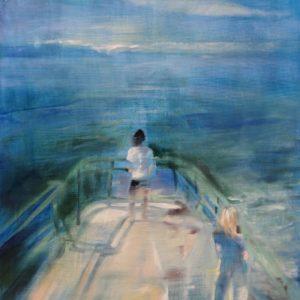 Salish-Sea-Gregg-Chadwick-saatchi-art-figurative-blue-painting