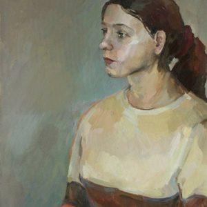 Portrait of Valeria Juliya ZHUKOVA