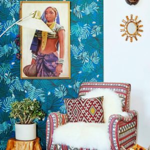 figurative art to complement The Jungalow style