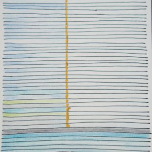 summer-Joanna-Zajusz-saatchi-art-stripes-drawing