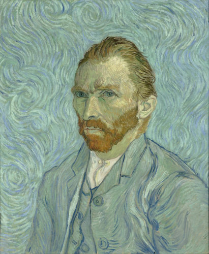 """Self Portrait"" Vincent Van Gogh, 1888"
