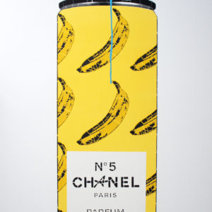 chanel-bananas-campbell-la-pun-saatchi-art-yellow-wood-painting