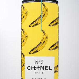 chanel-bananas-campbell-la-pun-saatchi-art-yellow-wood-painting