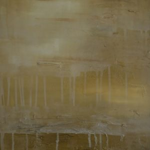 evening-sky-francesca-gnagnarella-saatchi-art-gold-drips-painting