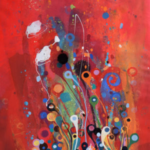 Fire-flowers-lilla-Kuizs-saatchi-art-abstract-red-painting