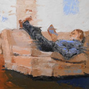Working-Fred-Bell-saatchi-art-figurative-painting