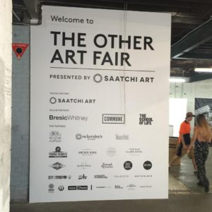 theotherartfairsydney is underway at COMMUNE! Theres food theres beer