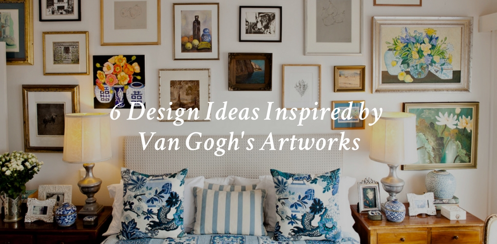 Six Interior Design Ideas Inspired By Van Goghu0027s Artworks U2013 Canvas: A Blog  By Saatchi Art