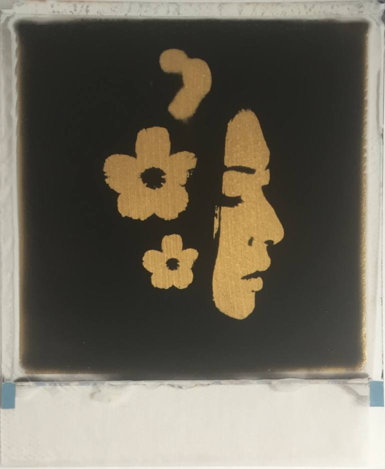 saatchi-art-andrew-millar-gold-leaf-poalroid