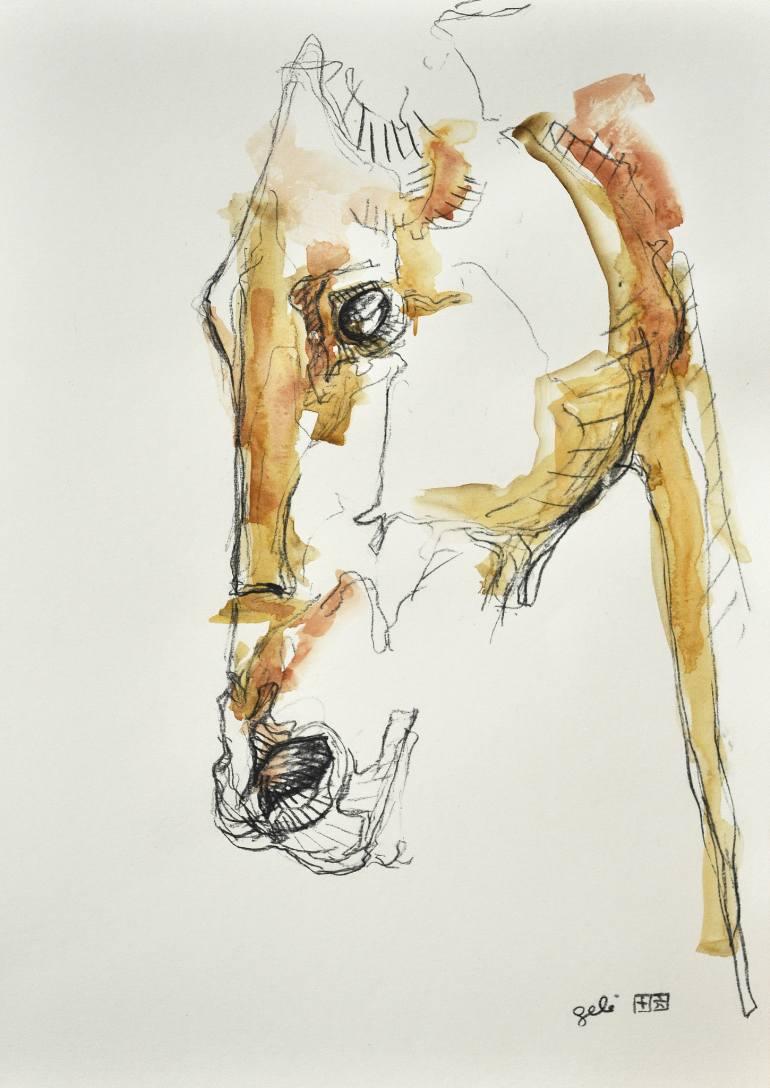 saatchi-art-gift-art-prints-equine-gele