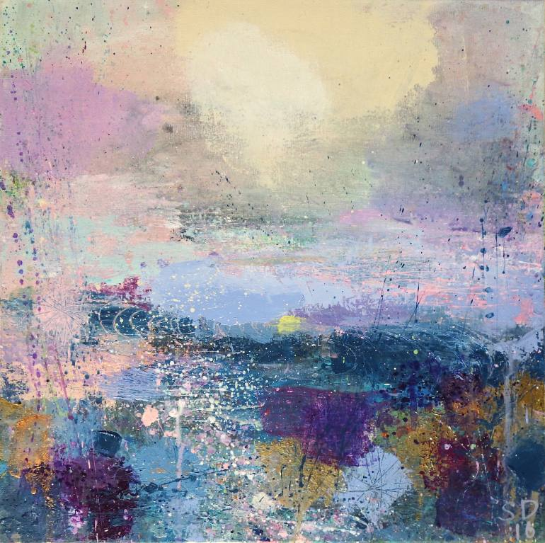 saatchi-art-gift-guide-sandy-dooley-abstract-landscape